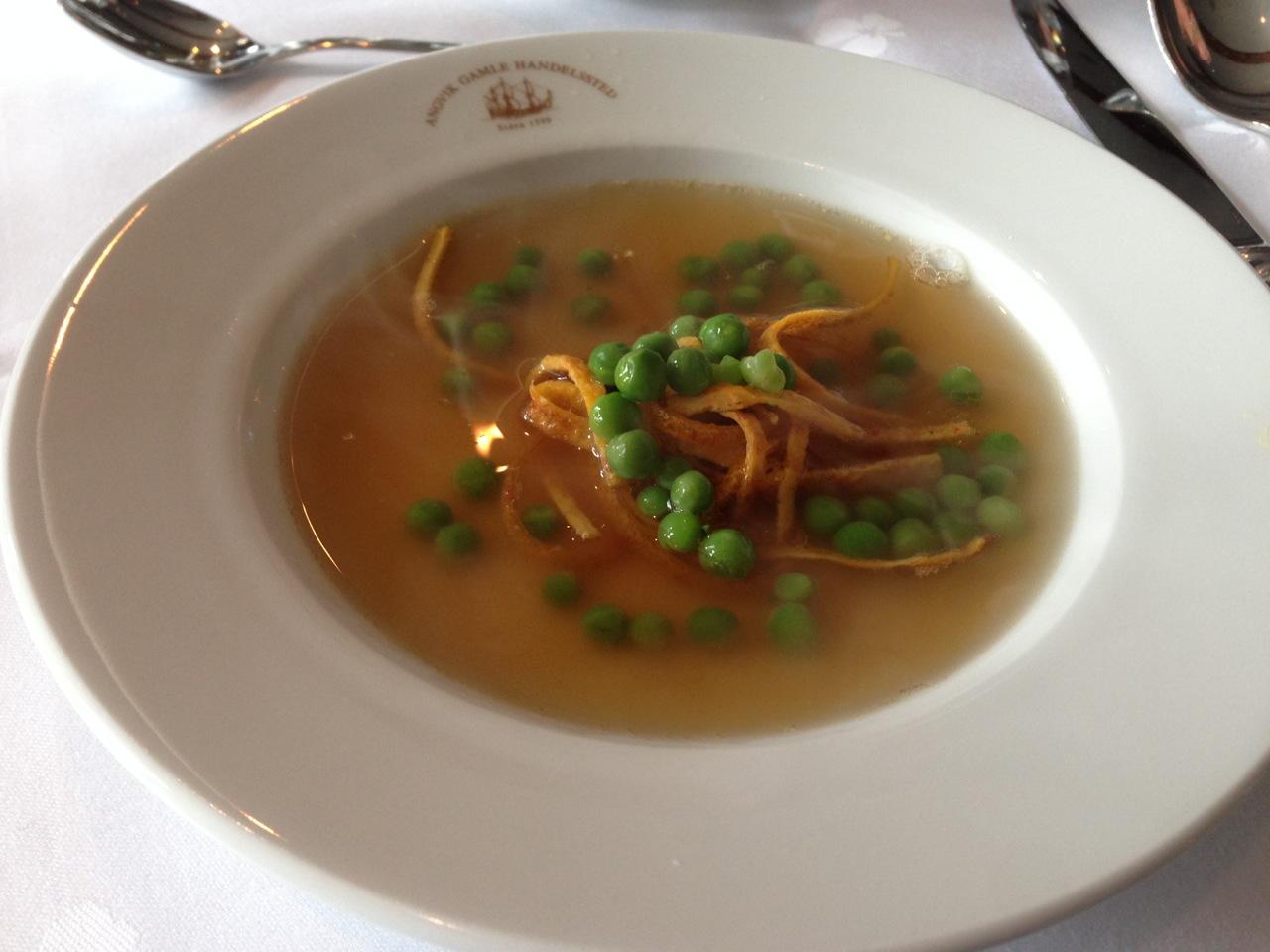 Og slik ble sluttresultatet. En lett og enkel suppe.