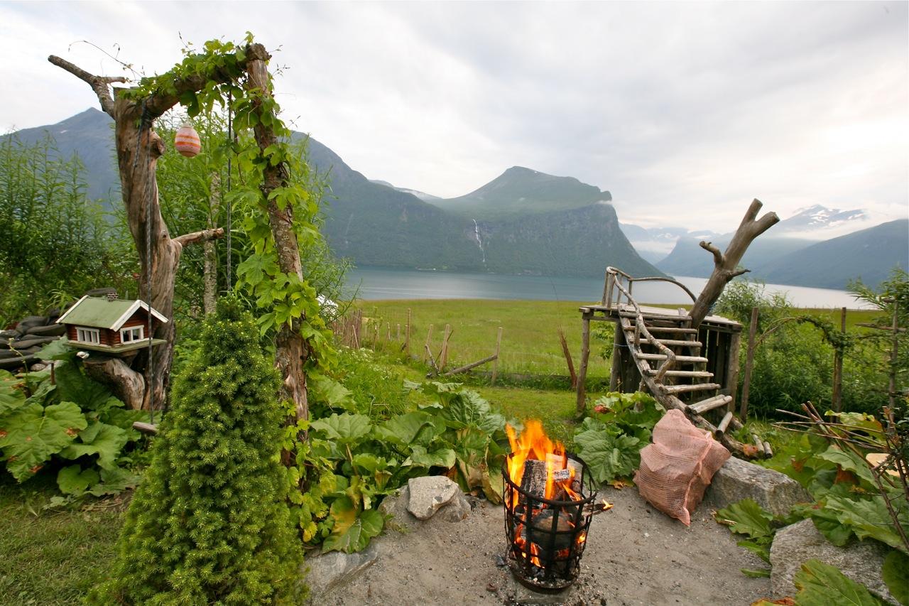 Her skal årets Fjellfestival åpnes 6. juli. Foto: Odd Roar Lange