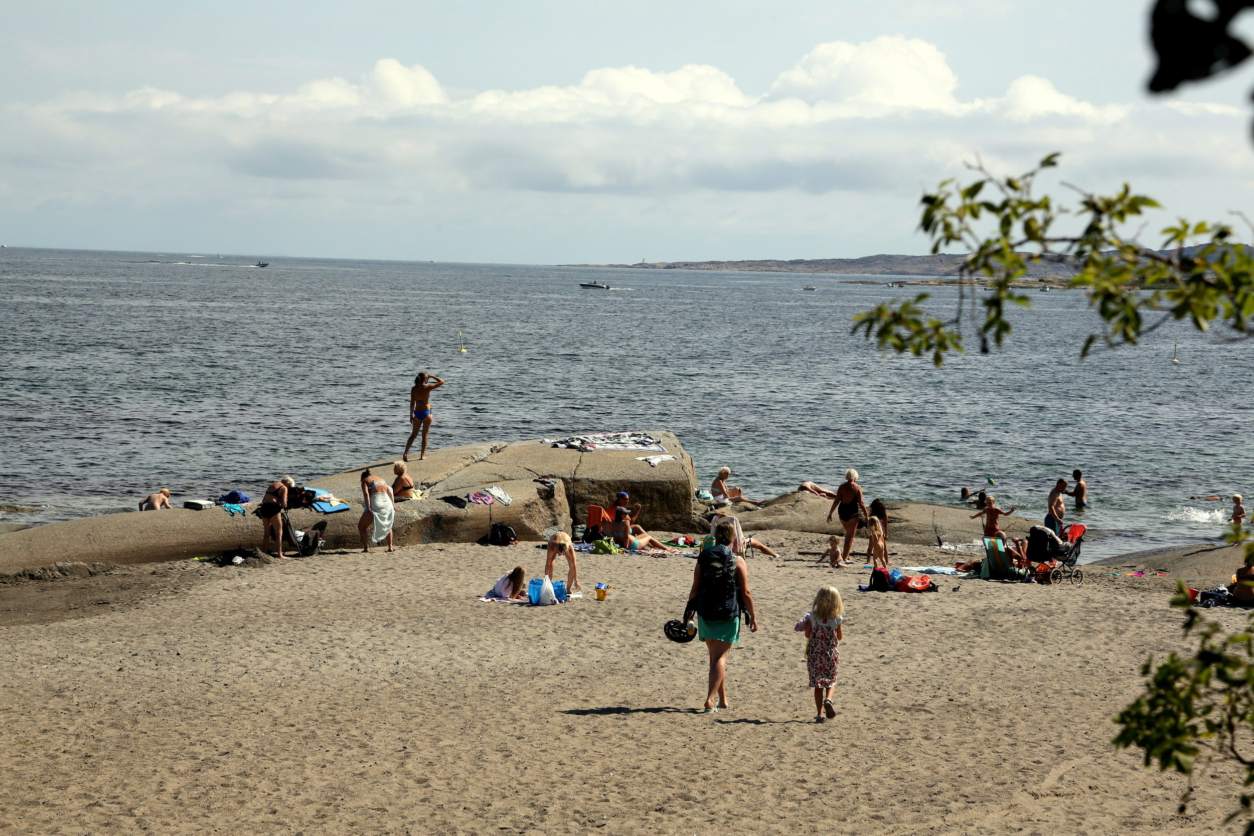 Lilleskagen på Tjøme. Eller strengt tatt på øya Hvasser, en fin sommerdag i 2013.