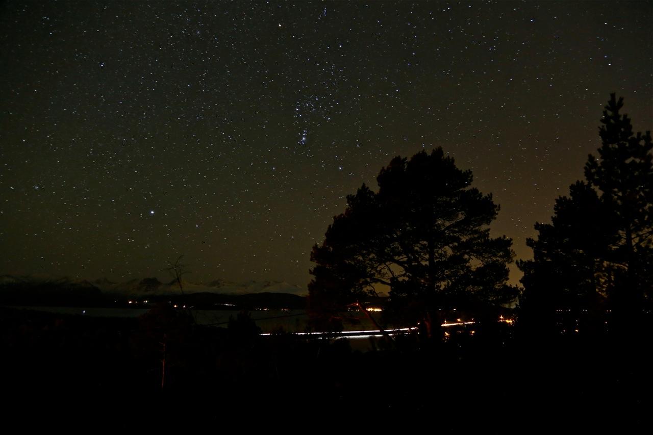 Kveldtur under stjernehimmel. Vel å prøve. Alle foto: Odd Roar Lange