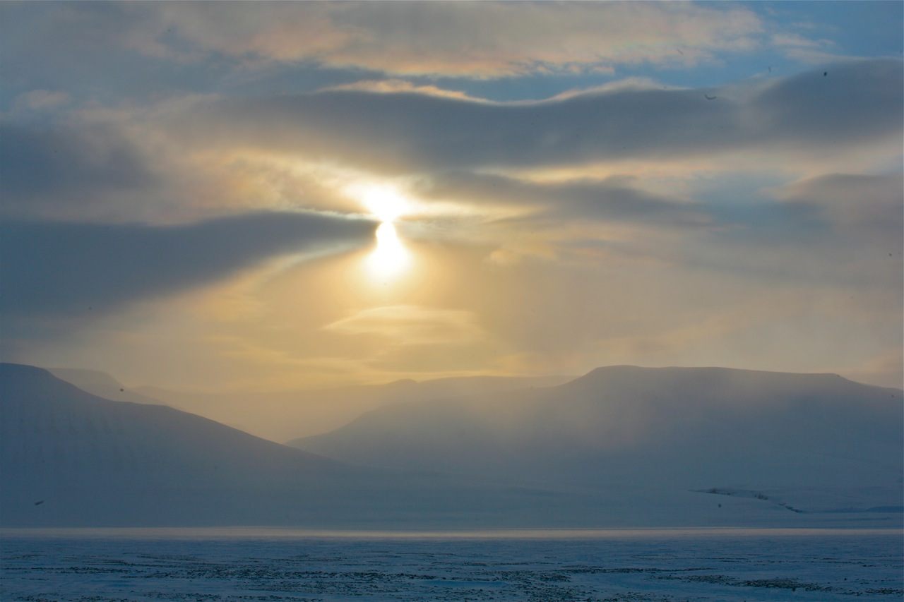 Svalbardlyset - helt magisk. Foto: Odd Roar Lange