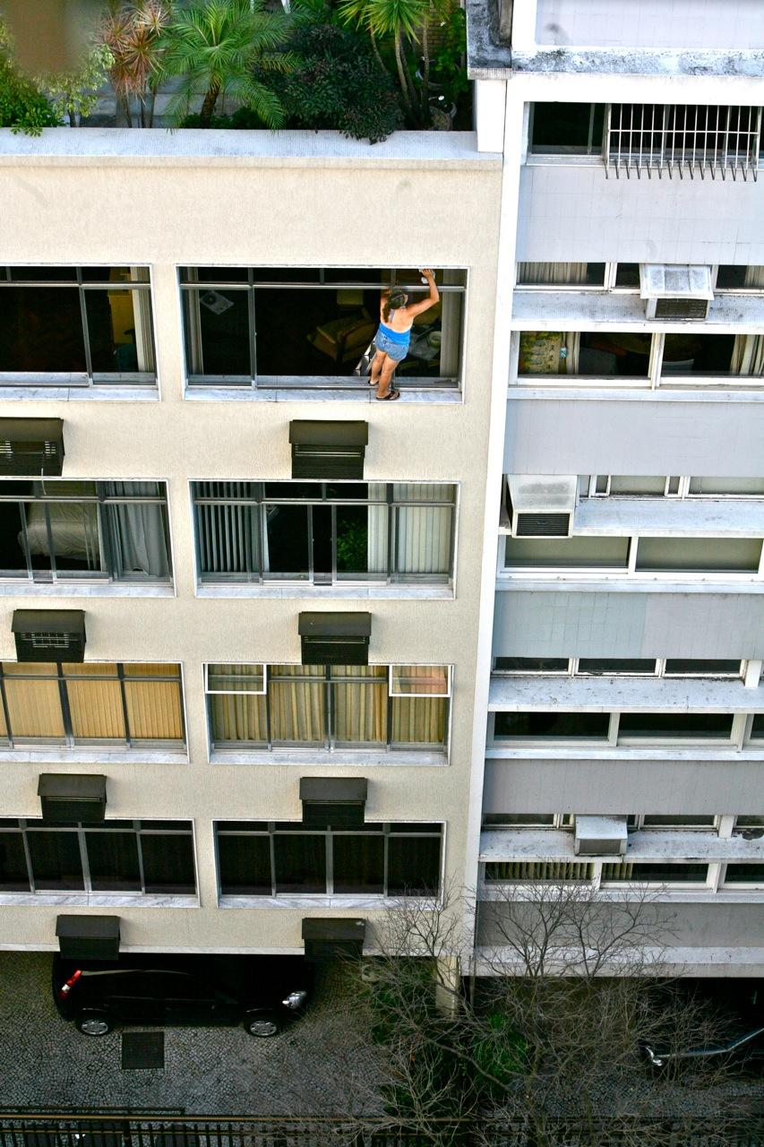 Høyt oppe ... i Rio de Janeiro. Foto: Odd Roar Lange