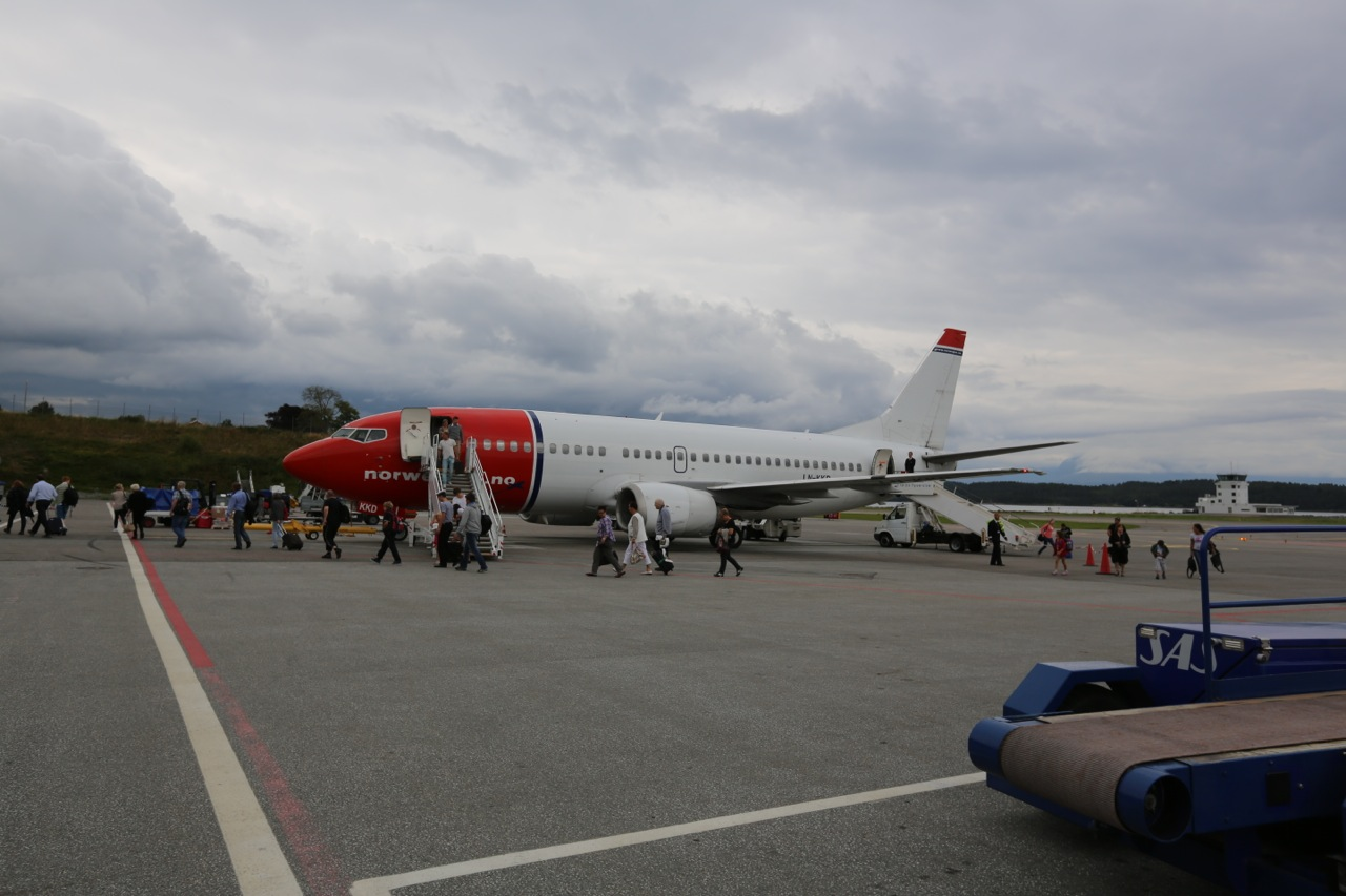 Flyselskapet Norwegian. Foto: Odd Roar Lange