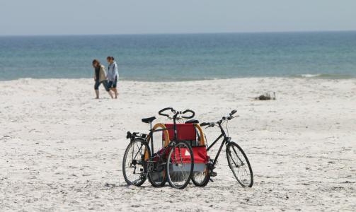 Sykkeltur og sommerferie på Bornholm. Foto: Odd Roar Lange