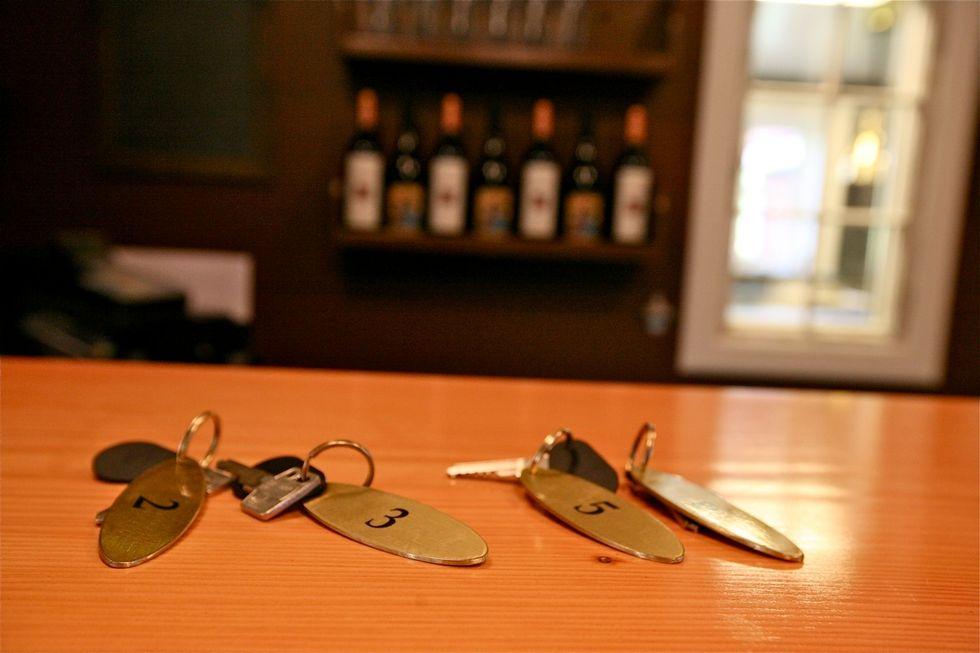 Nøkkelen til en god ferie i Danmark. Foto: Odd Roar Lange