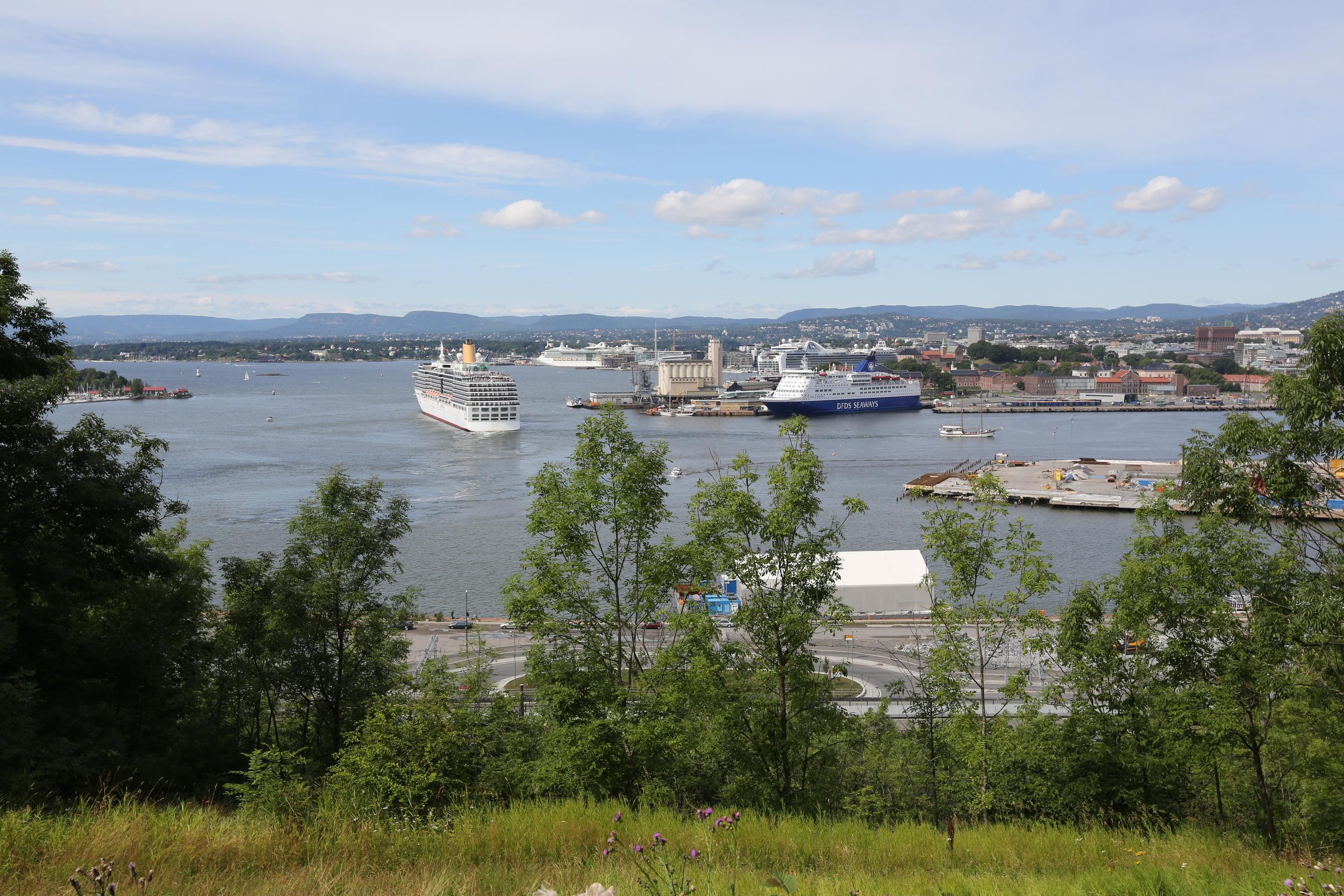 Indre Oslofjord. Foto: Odd Roar Lange