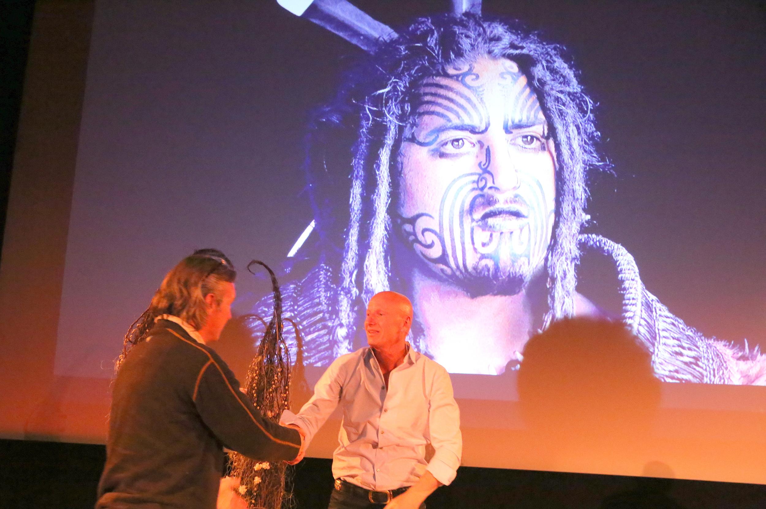 Chris og Jimmy møttes på fotofestivalen.