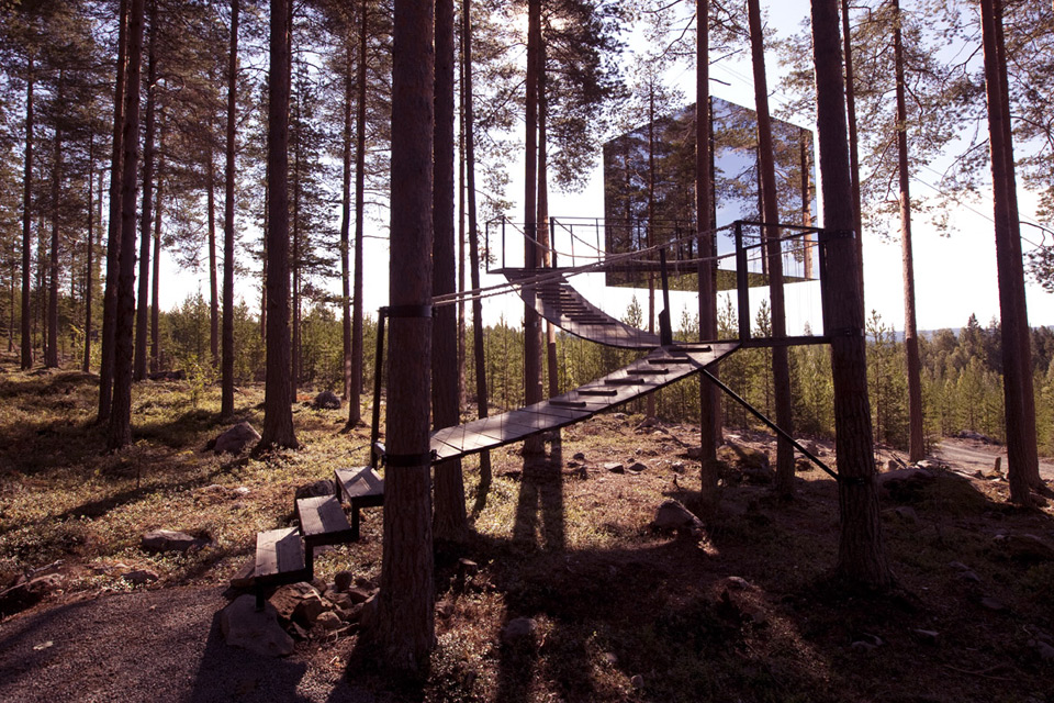 Treehotel - The Mirrorcube