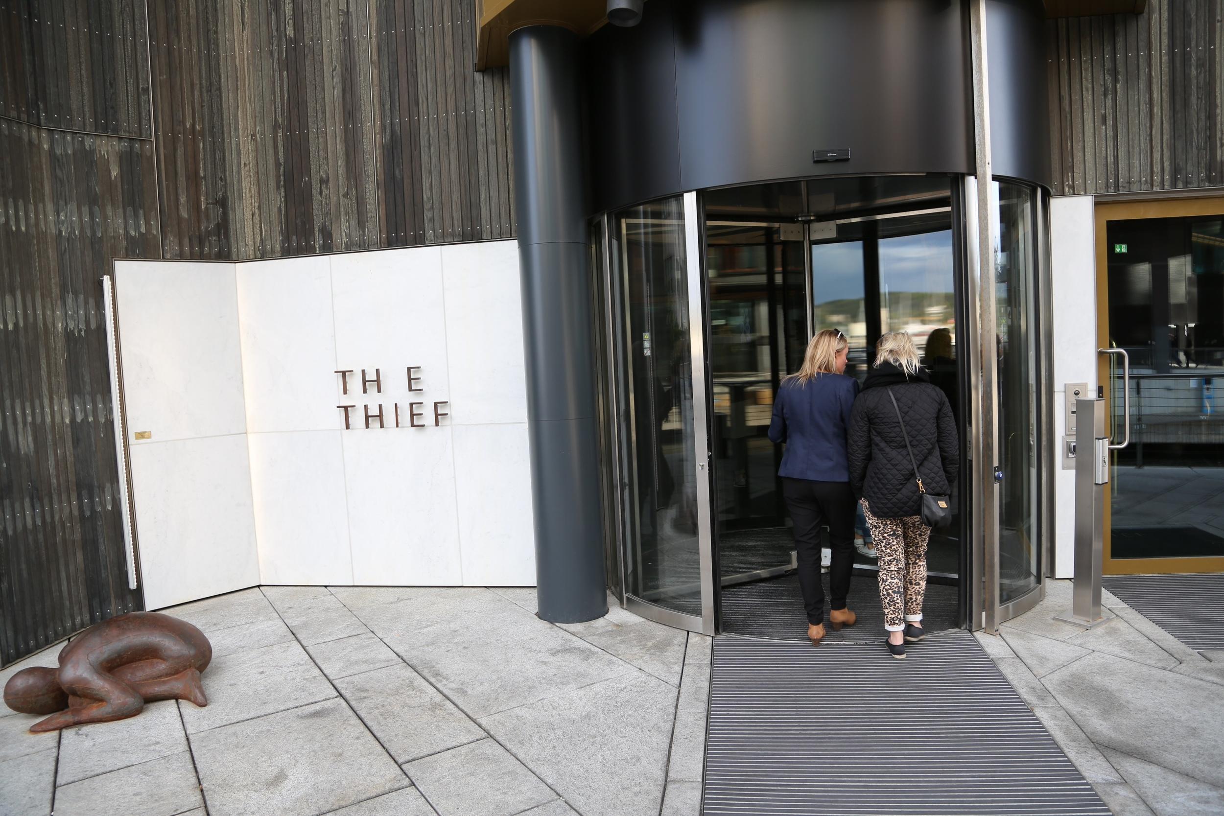 Hotel The Thief på Tjuvholmen i Oslo. Foto: Odd Roar Lange