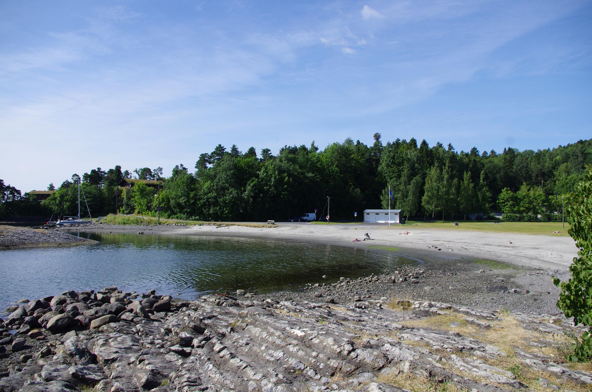 Holmenskjæret i Bærum. Foto: BlåttFlagg