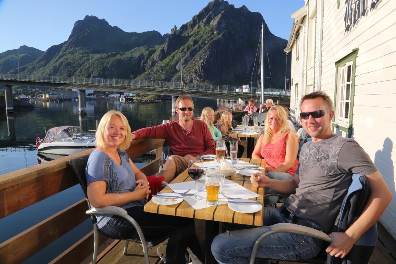 Svinøya Rorbuers restaurant, Børsen spiseri. Foto: Odd Roar Lange