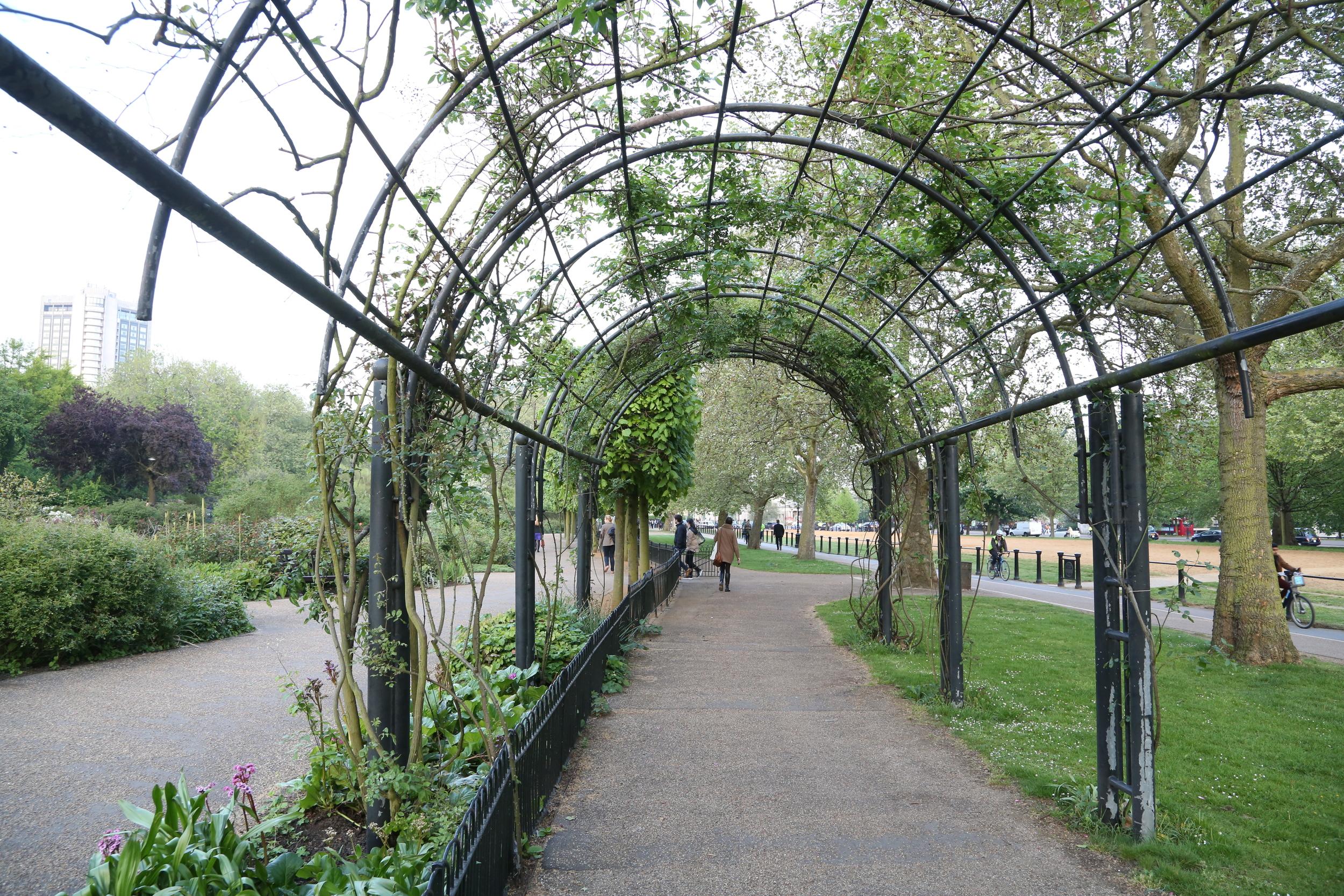Besøk Hyde Park. Foto: Odd Roar Lange