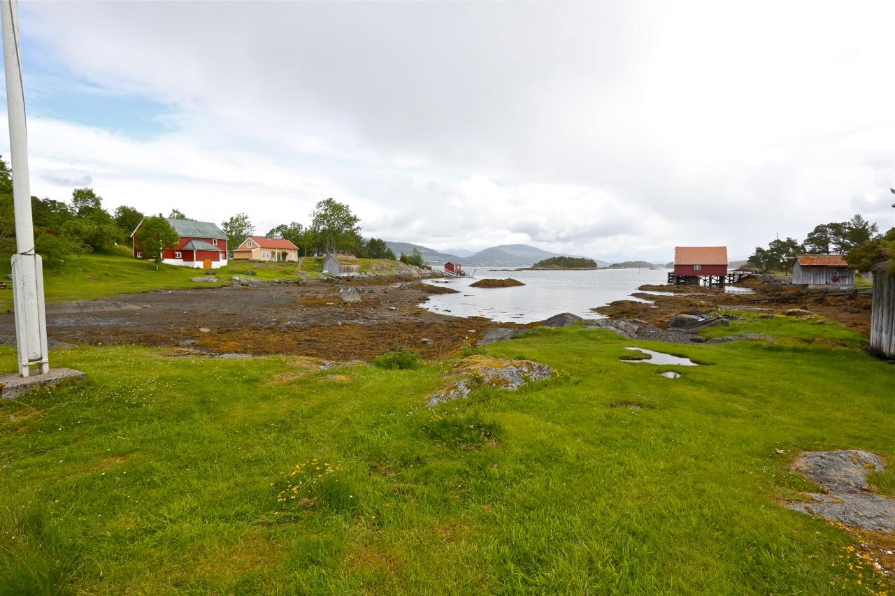 Et drømmested om sømmeren. I dag er Hjertøya 75 år som komunnalt eid øy. Foto: Odd Roar Lange