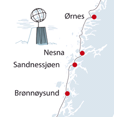 Fra Hurtigruten.no
