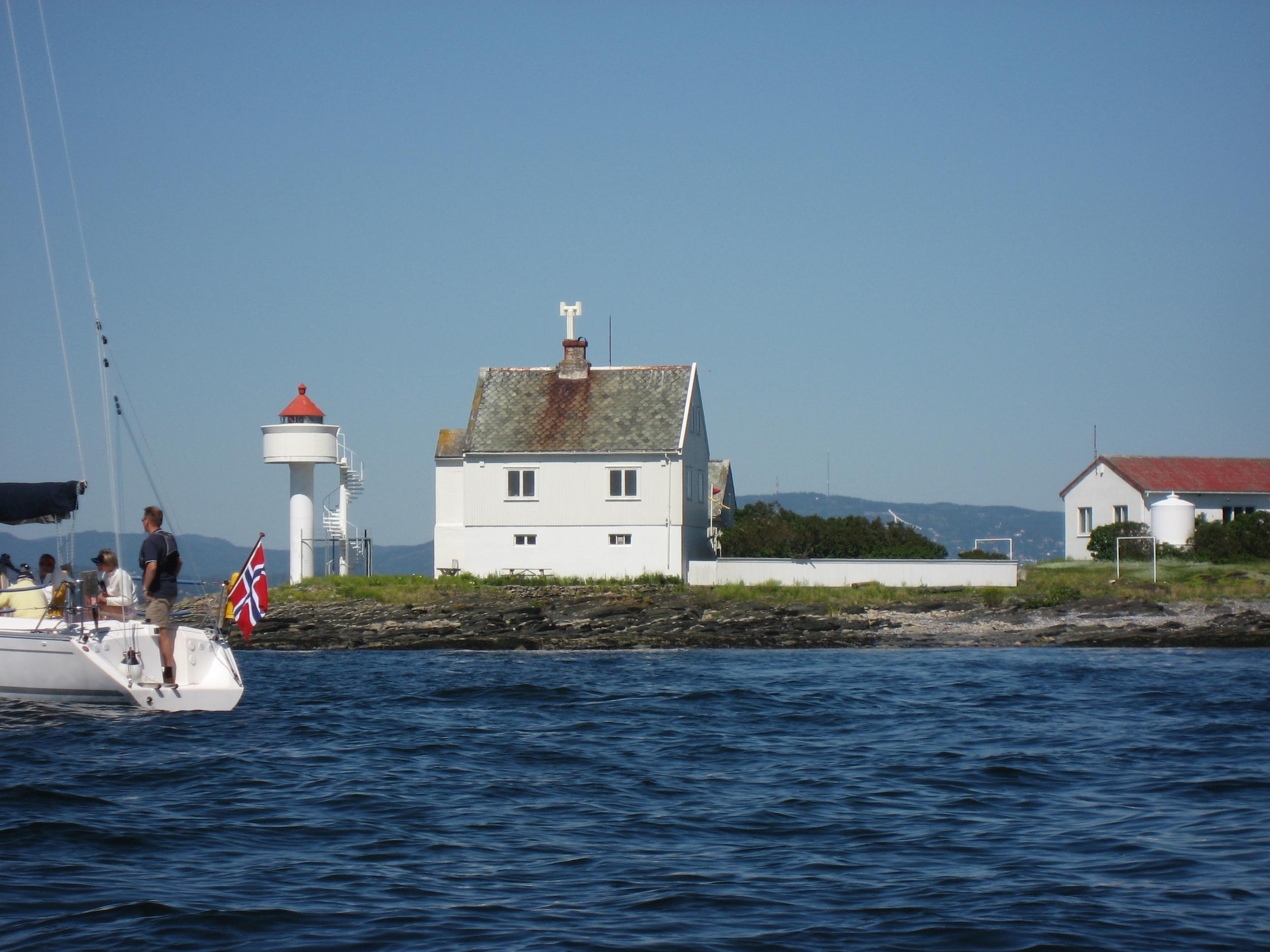 Oslofjorden venter på sommerturistene. Foto: Odd Roar Lange