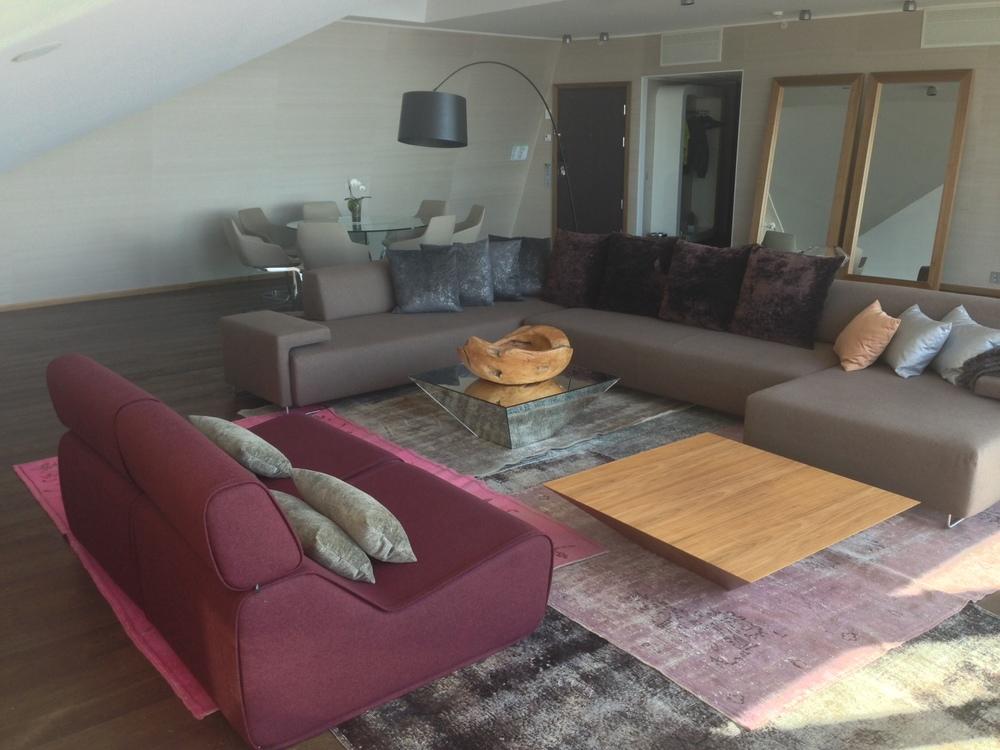 God og luftig suite, Reitan Galaxy, på Clarion Hotel & Conference i Trondheim. Foto: Odd Roar Lange