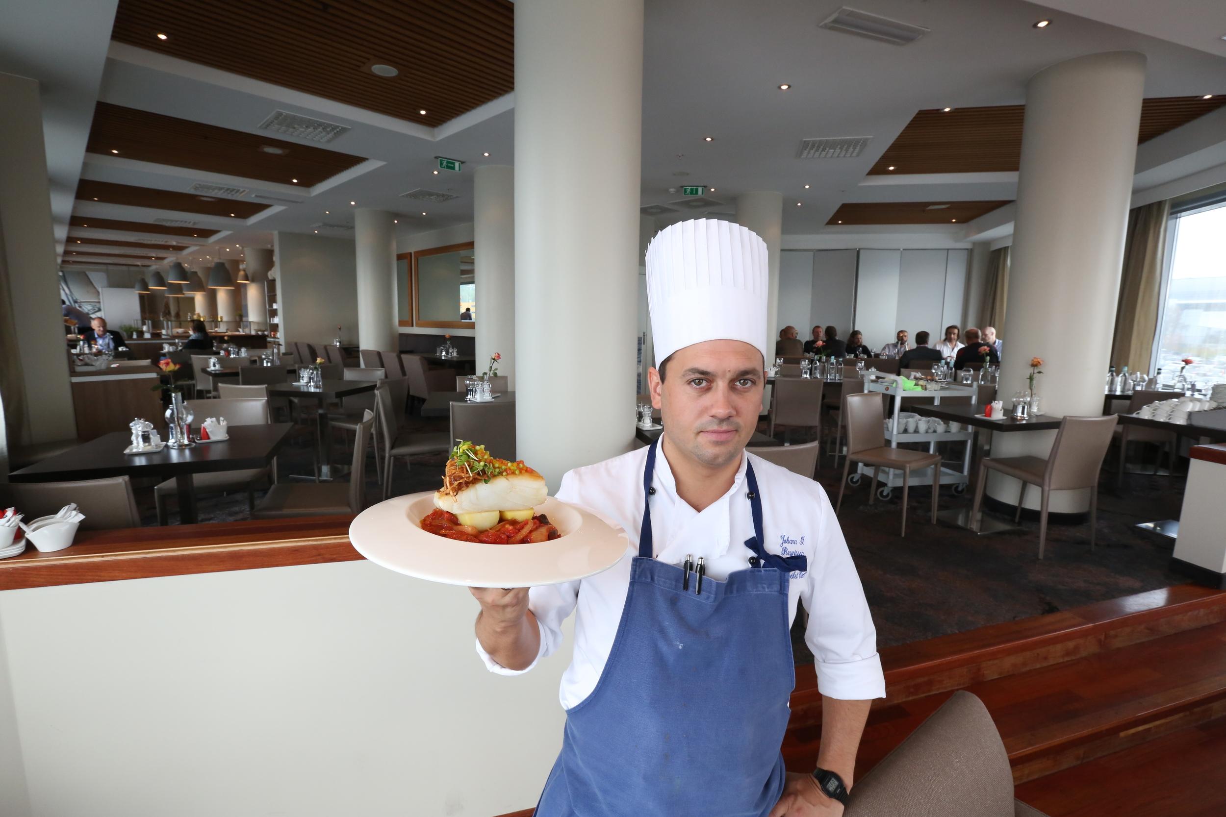 Kokkens favoritt er populær blant gjestene. Men den er fortsatt ikke den mest solgte på Rica Hotel Seilet. Foto: Odd Roar Lange