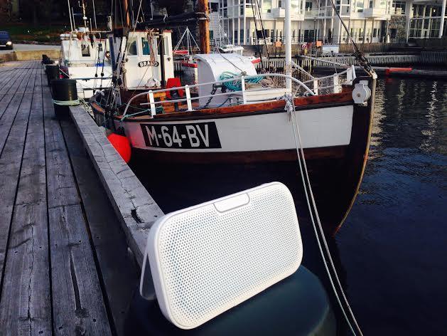 Dra til sjøs - for en høyttaler. Foto: Odd Roar Lange