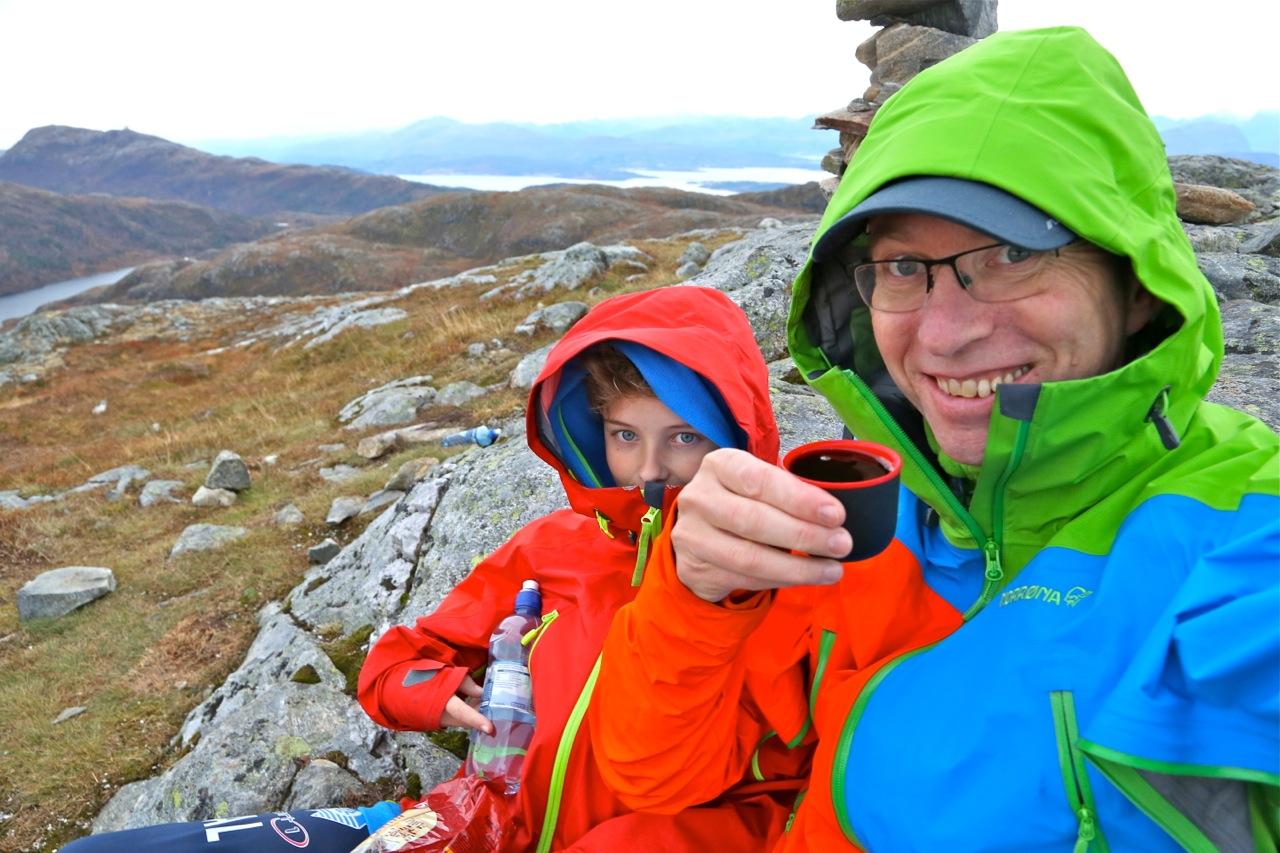"""En """"barsk"""" fjelltur trenger ikke være mer enn 500 moh. Turister vil elske det. Foto: Odd Roar Lange"""
