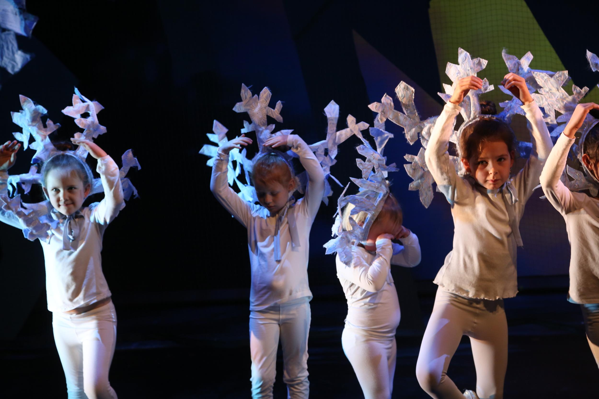 Dansere fra Molde kulturskole.