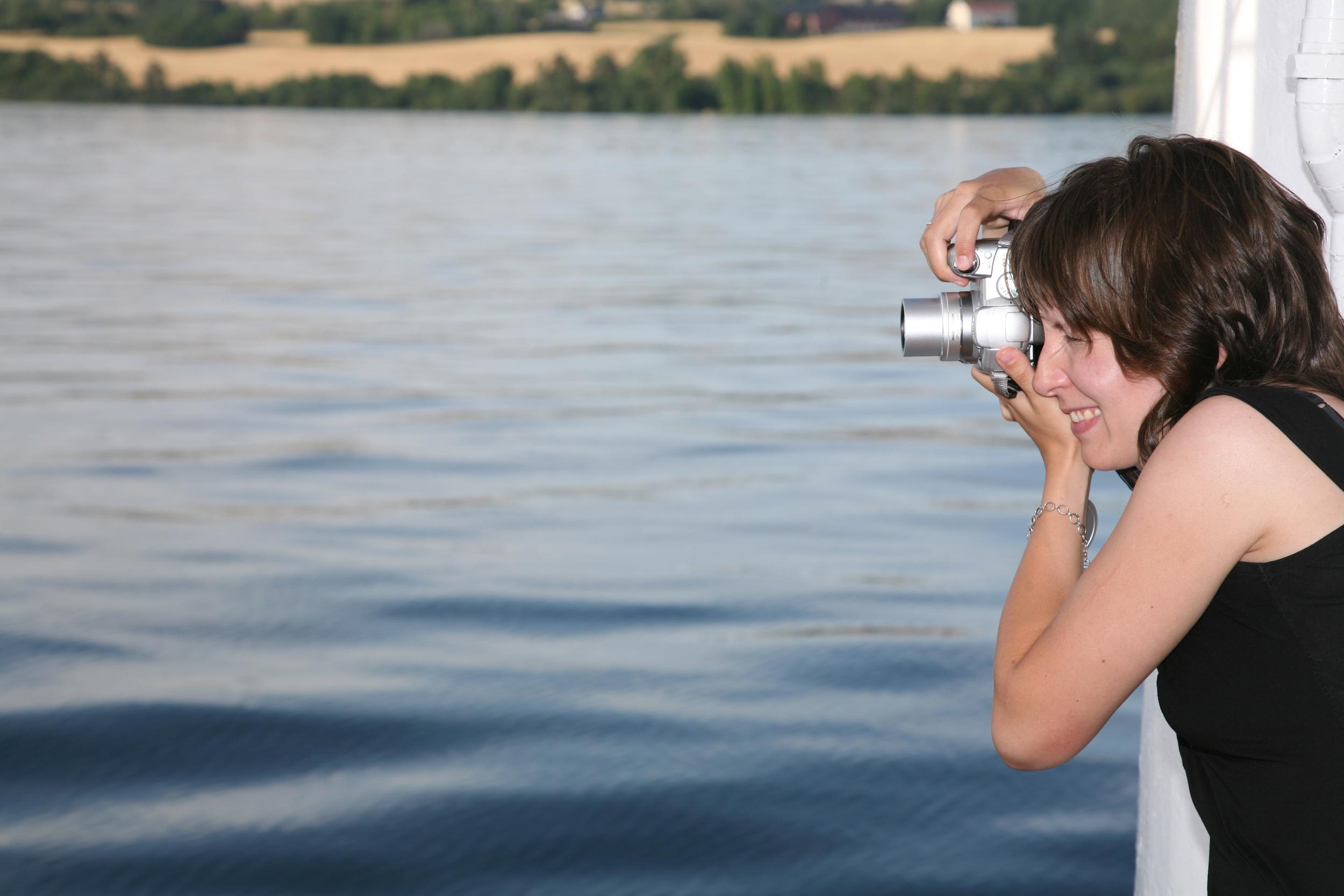 På jakt etter gode ferieopplevelser. Foto: Odd Roar Lange