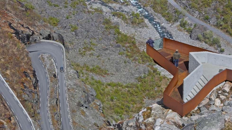 Prisvinner igjen, Trollstigen i Møre og Romsdal. Foto: Odd Roar Lange