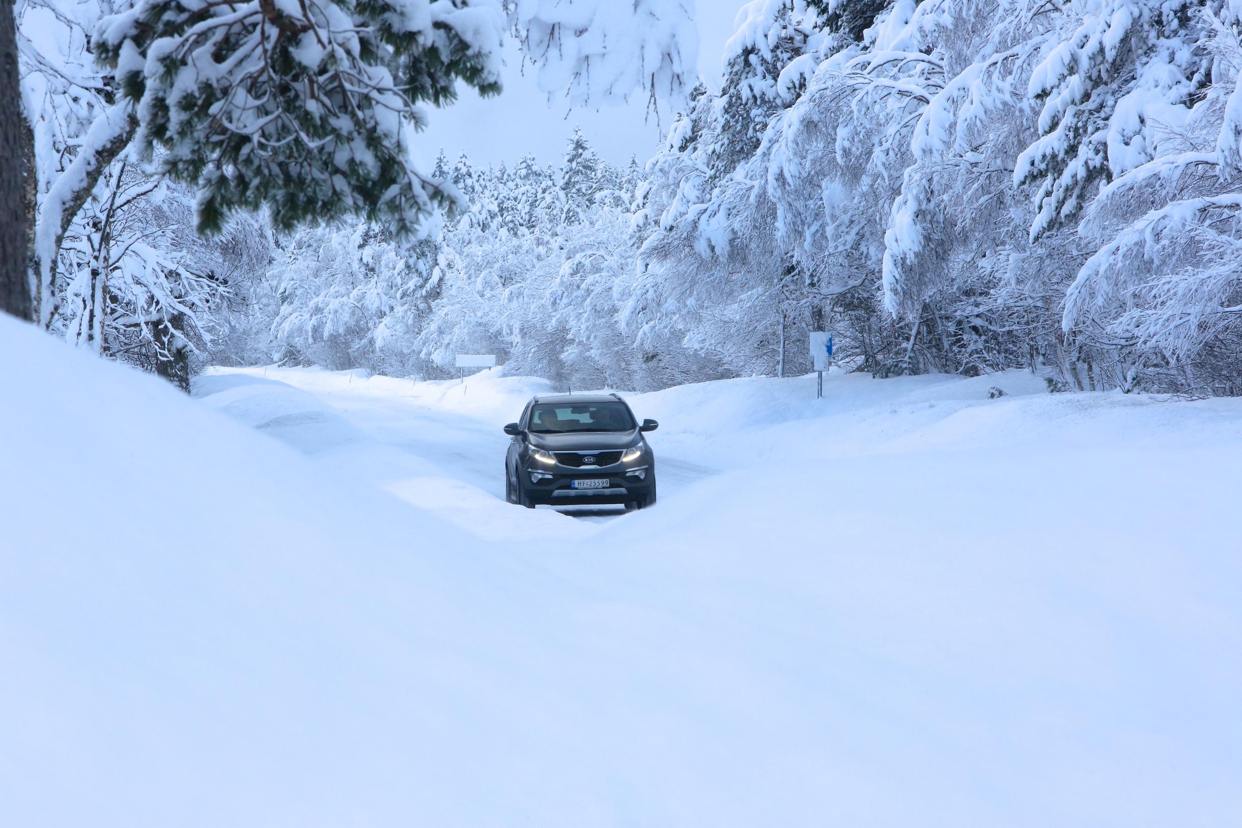 Fine vinterveger slik vi ønsker å ha det. Men er det slik der du er? Foto: Odd Roar Lange
