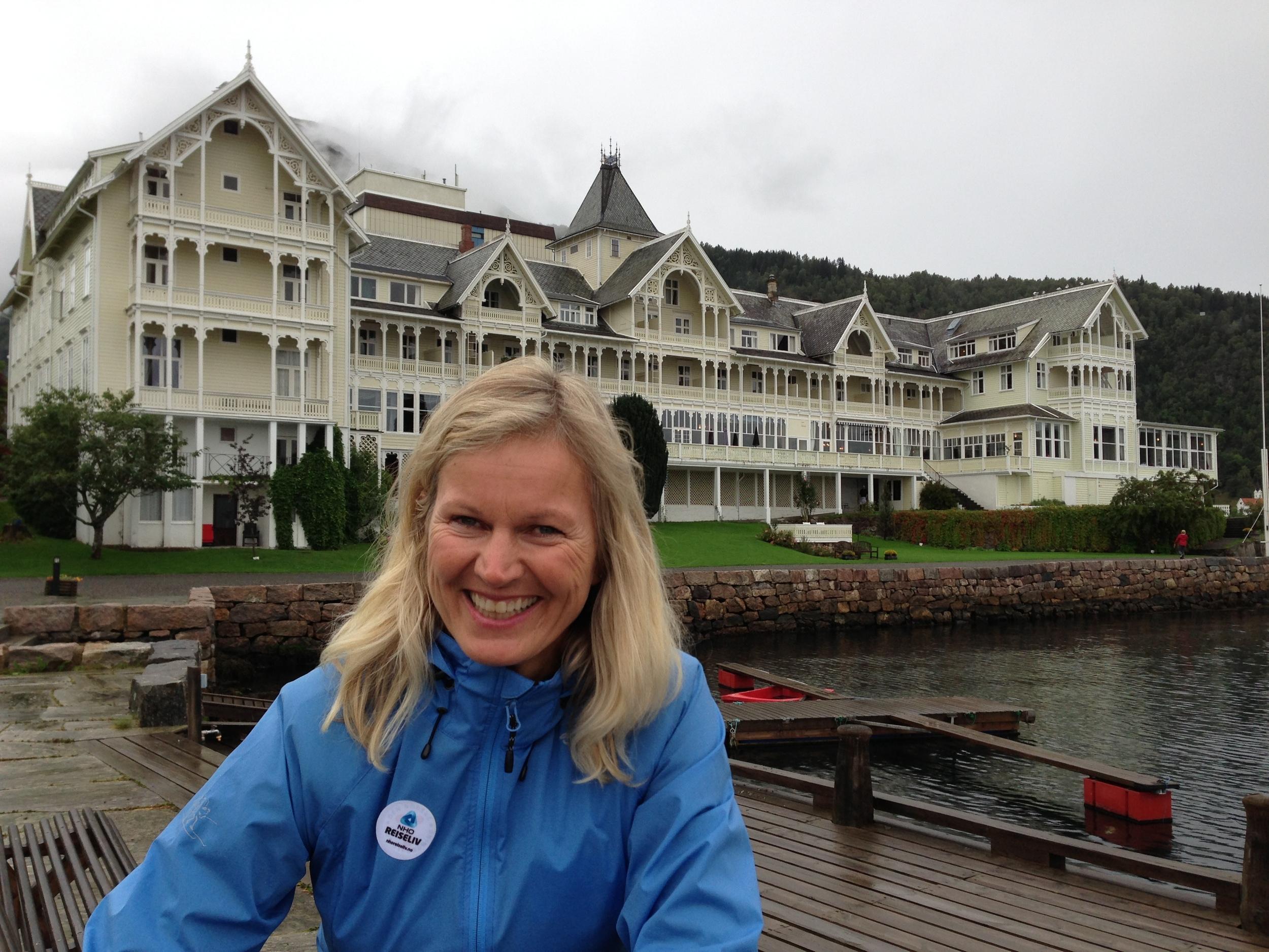 NHO-direktør Kristin Kohn Devold.  Foto: Odd Roar Lange