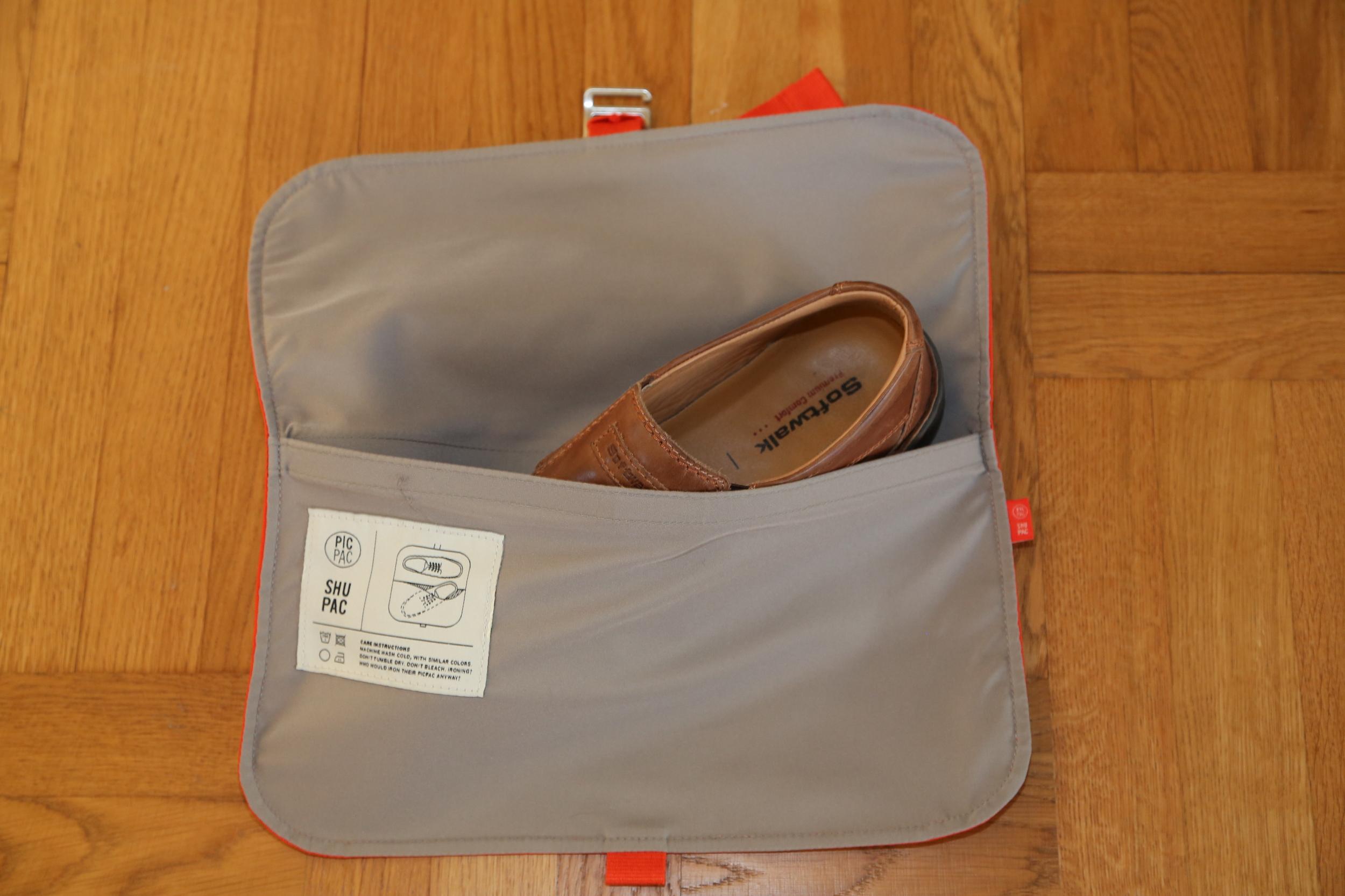 Plass til skoene. Husk å kjøpe til riktig skostørrelse. Foto: Odd Roar Lange