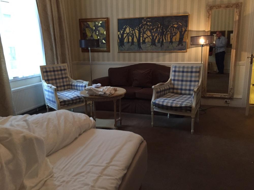 Et fint rom på tidligere Britannia Hotel i Trondheim. Jeg forlot det slik. Foto: Odd Roar Lange