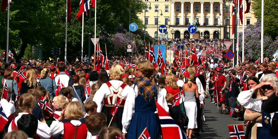 17. mai i hovedstaden Oslo. Foto: Visitoslo