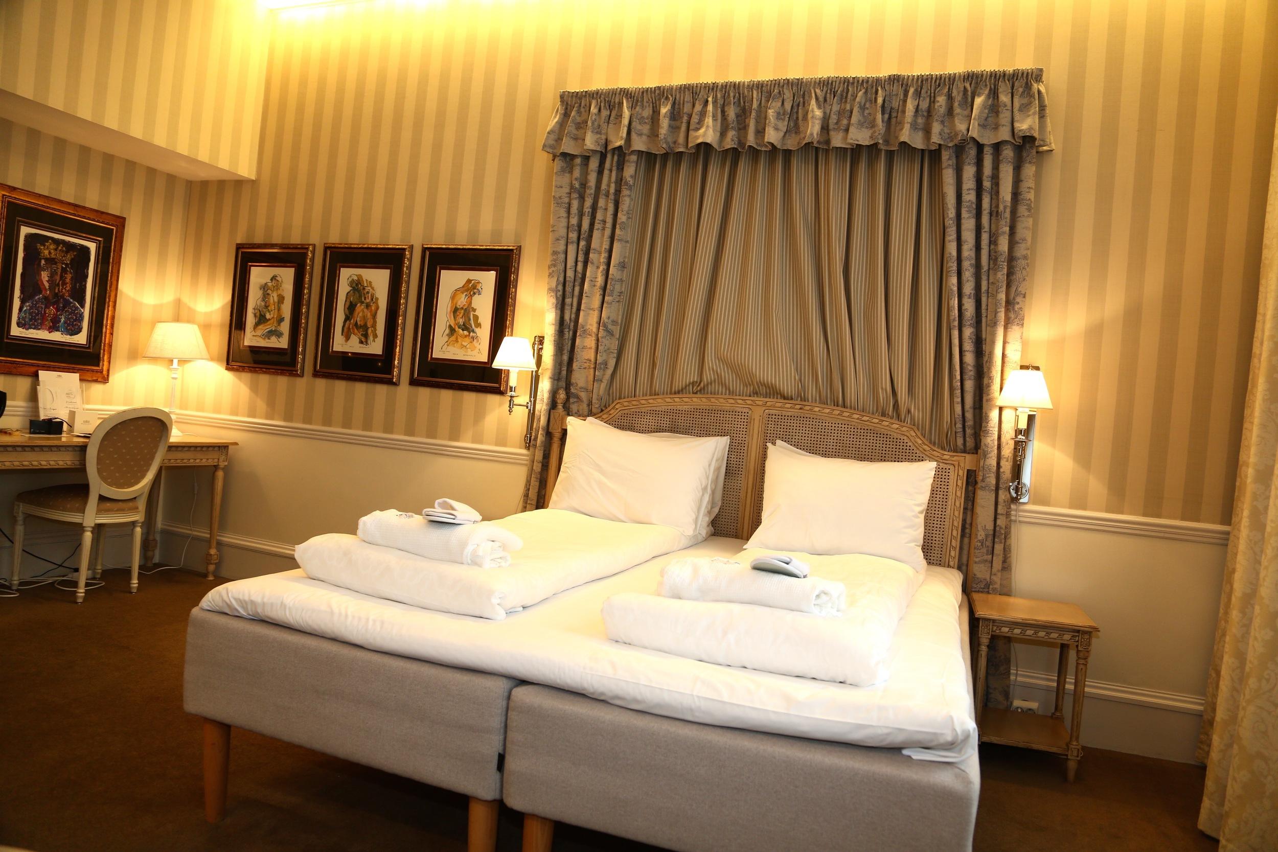 En hotellseng skal ikke koste mer enn det trenger.  Foto: Odd Roar Lange