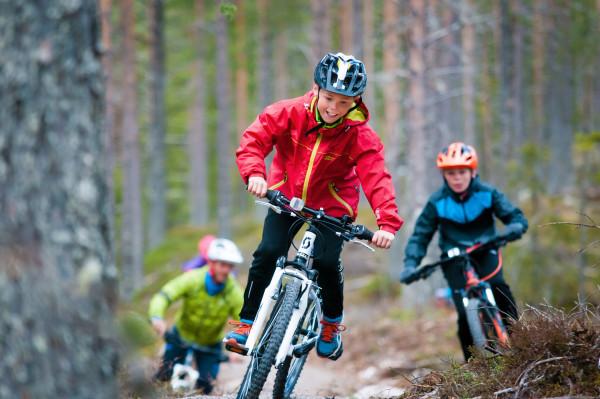 Klart for stisykling i Trysil. Foto: Trysil Bike Arena