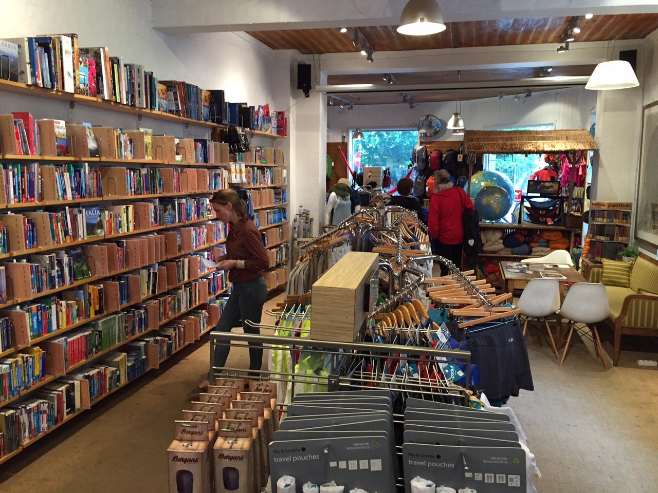 Slik ser butikken ut fra innsiden. Foto: Odd Roar Lange
