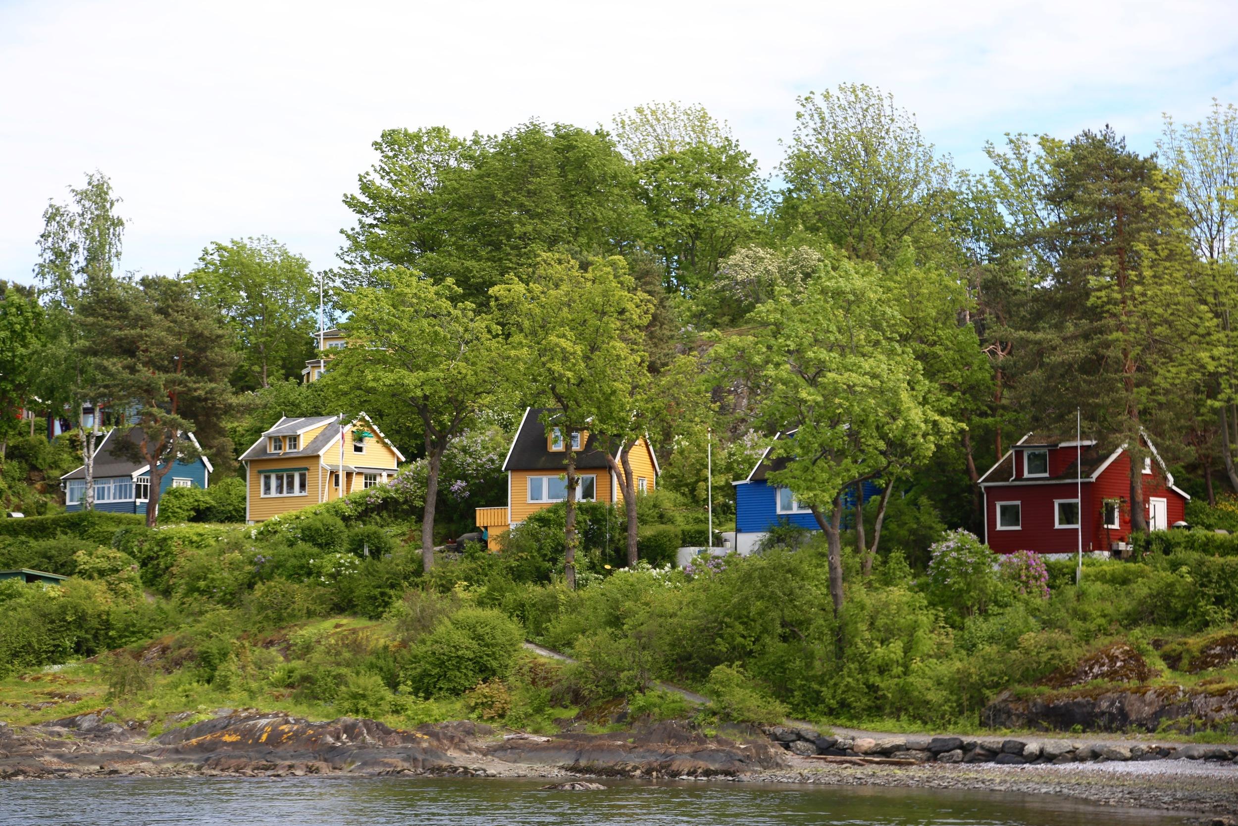Idyll på Bleikøya. Foto: Odd Roar Lange