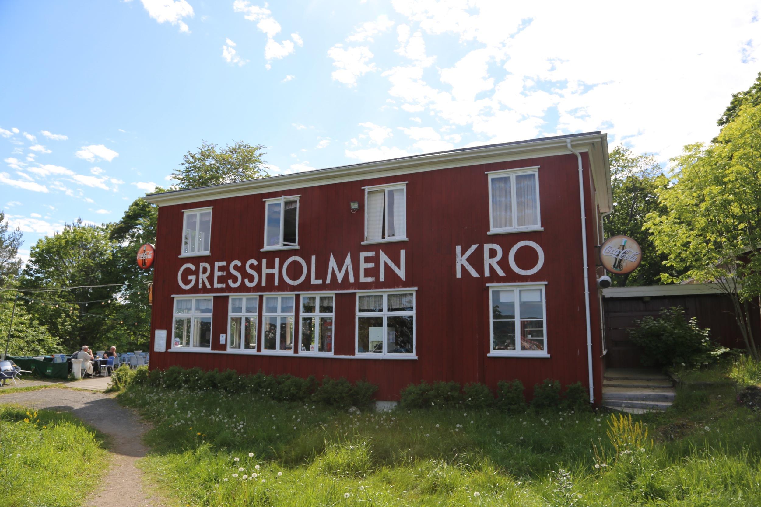Gressholmen kro. Nostalgi og glede. Foto: odd Roar Lange