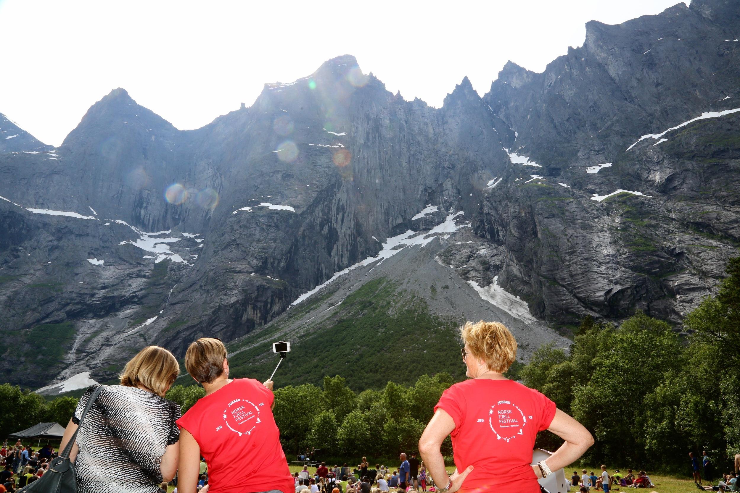 Den norske fjellfestivalen åpnet 5. juli. Prøv mine tre favoritter i sommer. Foto: Odd Roar Lange