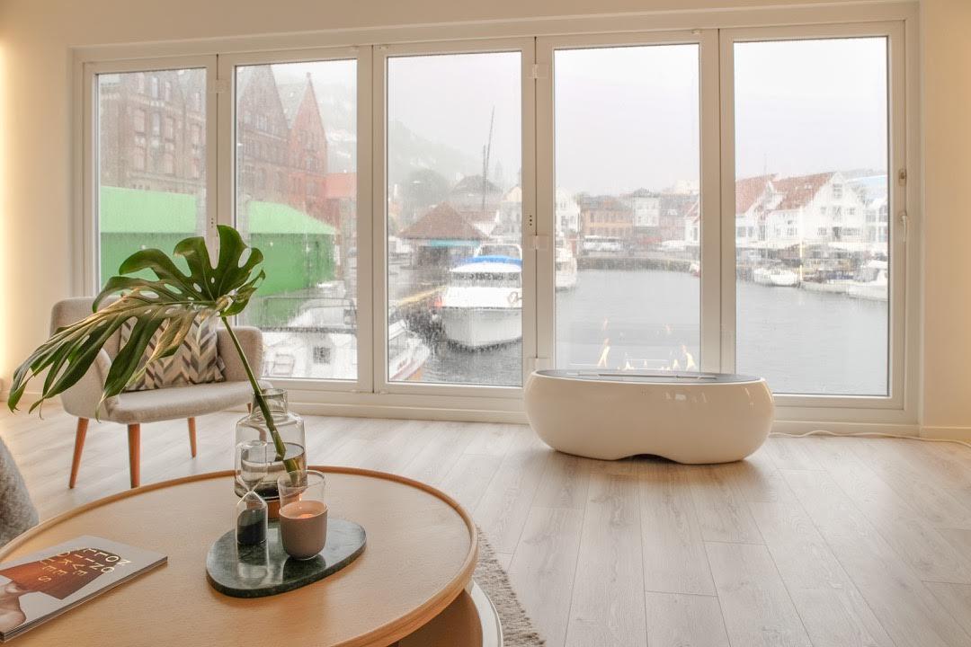 Vil du bo i en flytende leilighet i Bergen? Foto: Rob Shoenbaum