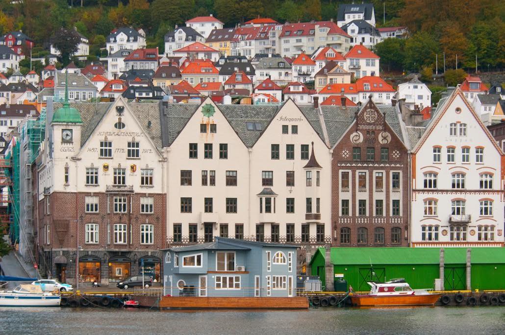 Se det spesielle overnattingsstedet i Bergen. Foto: Rob Shoenbaum