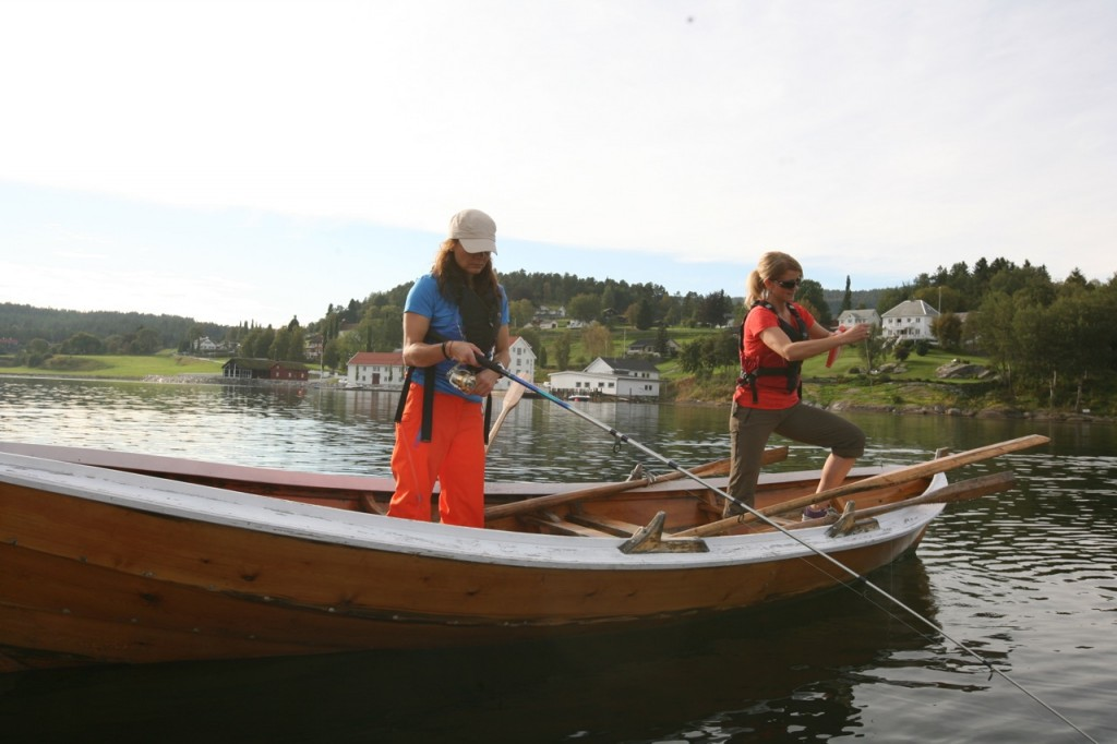 Fisketur på gamlemåten. Her fra Angvik på Nordmøre. Foto: Odd Roar Lange