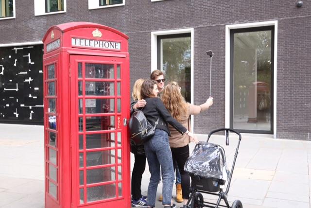 Vårstemning i London. Foto: Odd Roar Lange