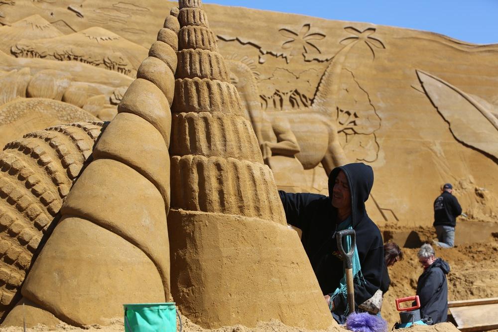 ector Sand Sculpture Denmark