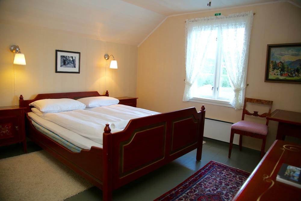 Et godt hotellrom er alltid kjekt. Dette bildet er tatt på Utne Hotel i Hardanger. Foto: odd Roar Lange