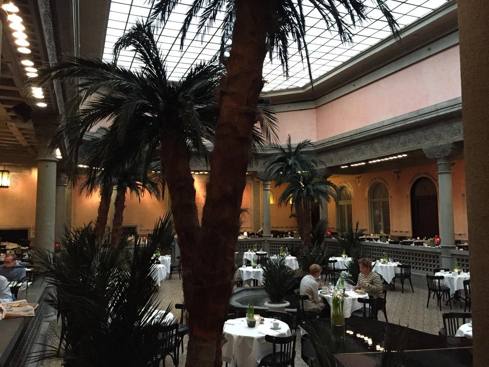Nyoppussede Palmehaven forsvinner. Foto: Odd Roar Lange
