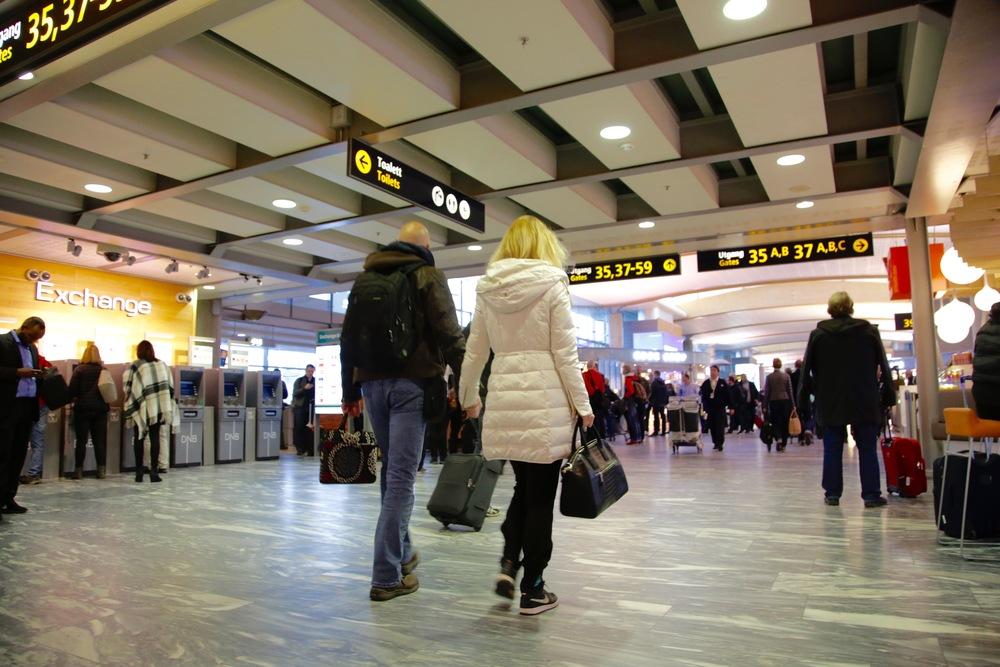 Har du med deg bare håndbagasje så blir reiselivet mye lettere fremover. Foto: Odd Roar Lange