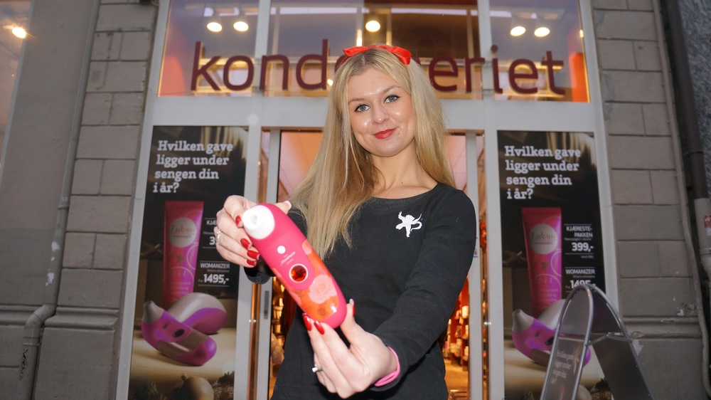 Dette er årets store vinner - en womenizer klitoris-stimulator.          Foto: Odd Roar Lange