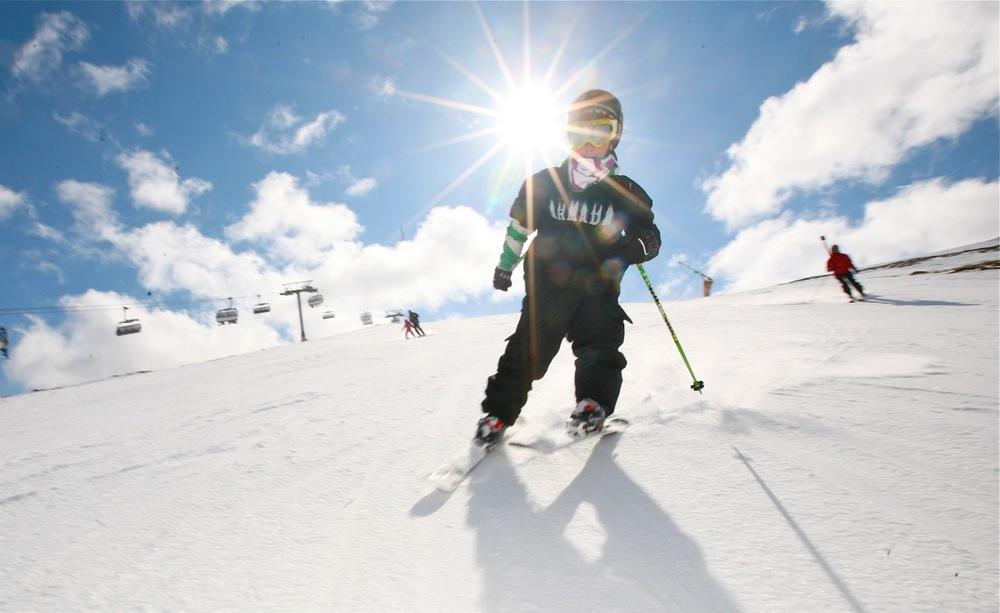 Trysil har bakker for skiløpere i alle aldre.              Foto: Odd Roar Lange