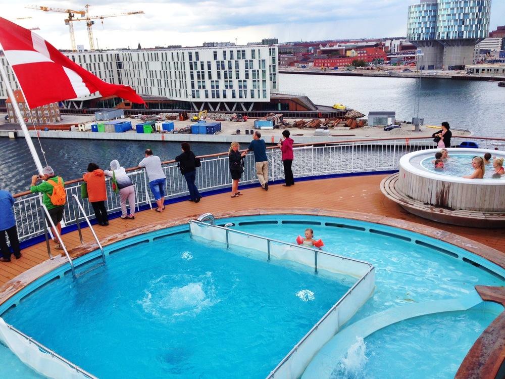 DFDS Seaways tar deg sjøvegen fra Oslo til København.               Foto: Odd Roar Lange