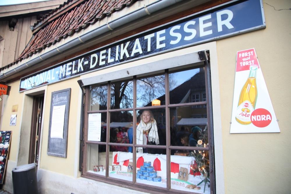 En reise i tid. Julemarkedet på Norsk Folkemuseum.    Foto: Odd Roar Lange