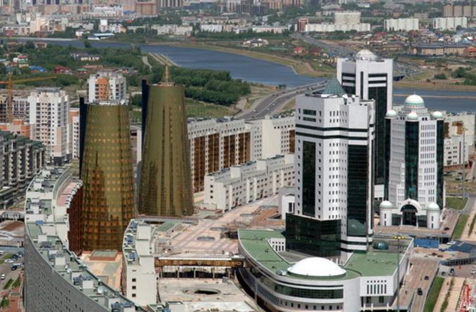 Astana er designet fra bunnen av - bokstavelig talt.    Foto Visit Kasakhstan